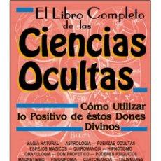 Libros: LIBRO-COMPLETO-DE-LAS-CIENCIAS-OCULTAS (MUY BUENO). Lote 178680260