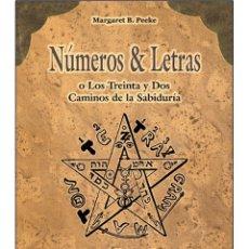 Libros: NUMEROS-LETRAS (SIGNIFICADO MISTICO DE LOS NUMEROS). Lote 178681083