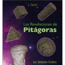 Libros: PITAGORAS- REVELACIONES (NUMEROLOGIA). Lote 178681462