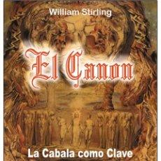 Libros: EL CANON (CABALA). Lote 178685587