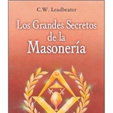 Libros: GRANDES-SECRETOS-DE-LA-MASONERIA. Lote 178687243