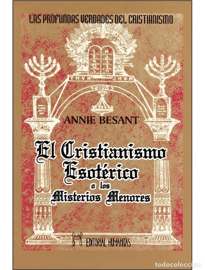 CRISTIANISMO-ESOTERICO (Libros Nuevos - Humanidades - Esoterismo (astrología, tarot, ufología, etc.))