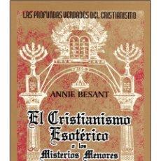 Libros: CRISTIANISMO-ESOTERICO. Lote 178687532