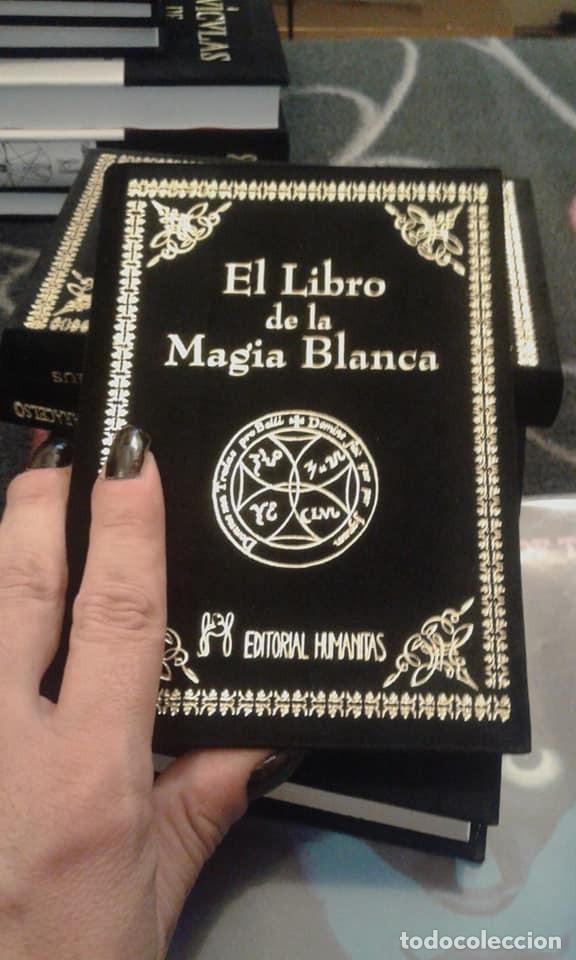 EL LIBRO DE LA MAGIA BLANCA-LUJOSAMENTE ENCUADERNADO (Libros Nuevos - Humanidades - Esoterismo (astrología, tarot, ufología, etc.))