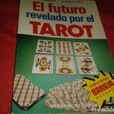 Libros: EL FUTURO REVELADO POR EL TAROT. Lote 183571521
