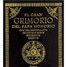Libros: EL GRAN-GRIMORIO-DEL-PAPA-HONORIO (MUY BUSCADO). Lote 208955382
