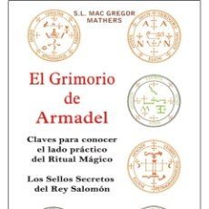 Libros: EL GRIMORIO-DE-ARMADEL (MAGIA NEGRA). Lote 184818352