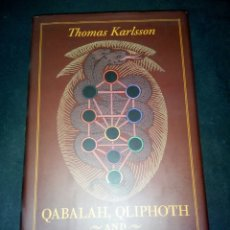 Livres: QABALAH, QLIPHOTH AND GOETIC MAGIC. THOMAS KARLSSON.. Lote 185697575