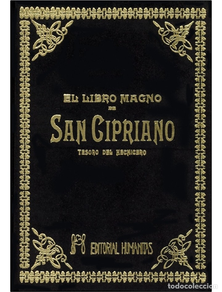 EL LIBRO-MAGNO-DE-SAN-CIPRIANO (MUY BUSCADO) (Libros Nuevos - Humanidades - Esoterismo (astrología, tarot, ufología, etc.))