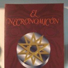 Libros: EL NECRONOMICÓN. H.P.LOVERCRAFT. EDAF. Lote 191282732