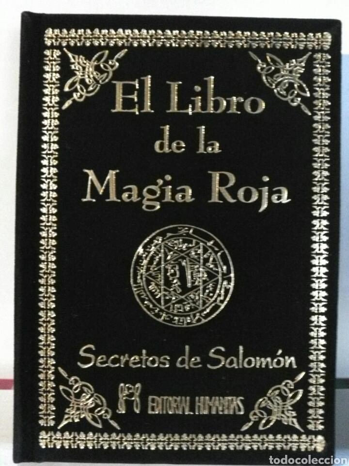 Libros: EL LIBRO DE LA MAGIA ROJA. HUMANITAS. TERCIOPELO - Foto 2 - 192211351
