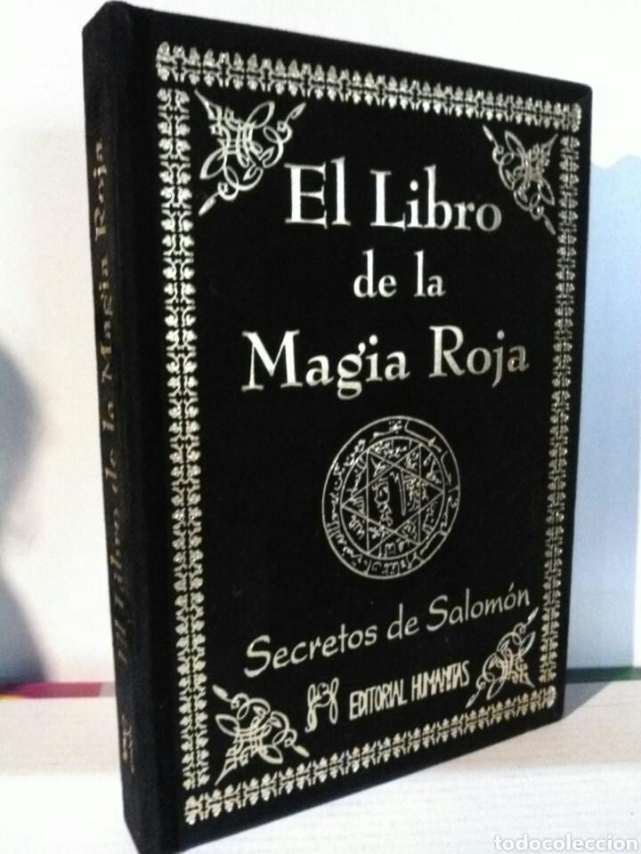 EL LIBRO DE LA MAGIA ROJA. HUMANITAS. TERCIOPELO (Libros Nuevos - Humanidades - Esoterismo (astrología, tarot, ufología, etc.))