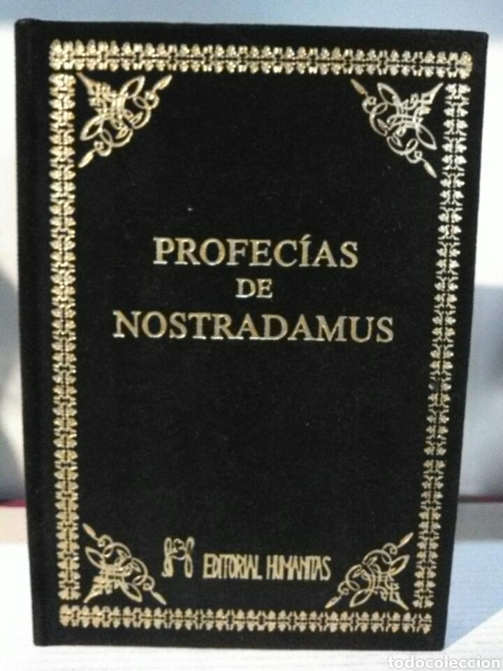 Libros: PROFECÍAS DE NOSTRADAMUS. HUMANITAS. TERCIOPELO - Foto 2 - 192211508