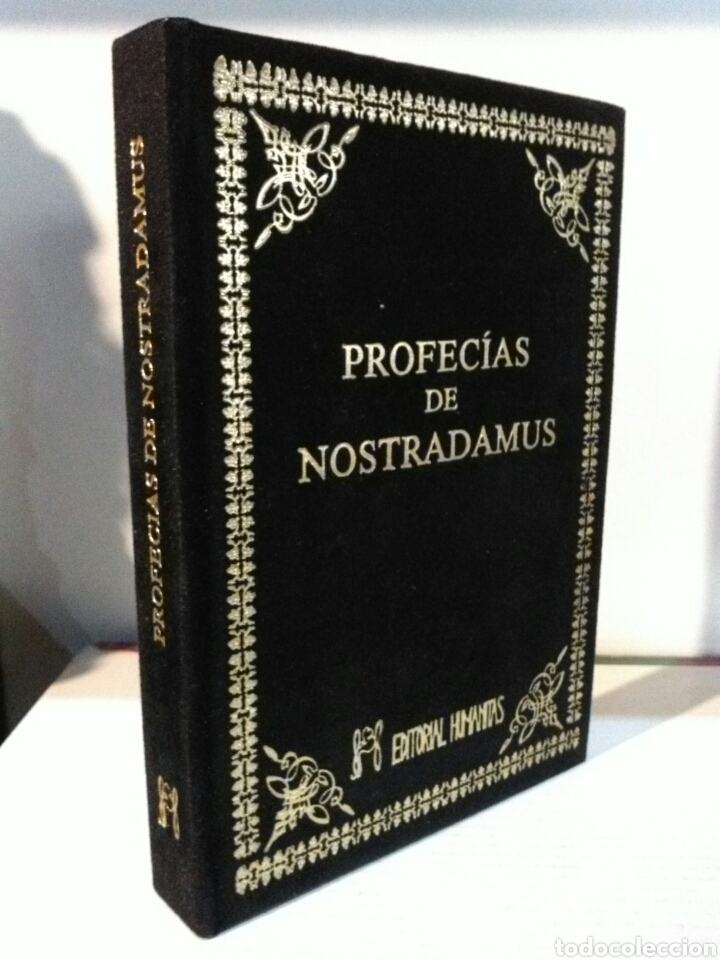 PROFECÍAS DE NOSTRADAMUS. HUMANITAS. TERCIOPELO (Libros Nuevos - Humanidades - Esoterismo (astrología, tarot, ufología, etc.))