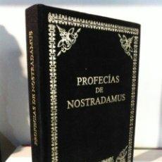 Libros: PROFECÍAS DE NOSTRADAMUS. HUMANITAS. TERCIOPELO. Lote 192211508