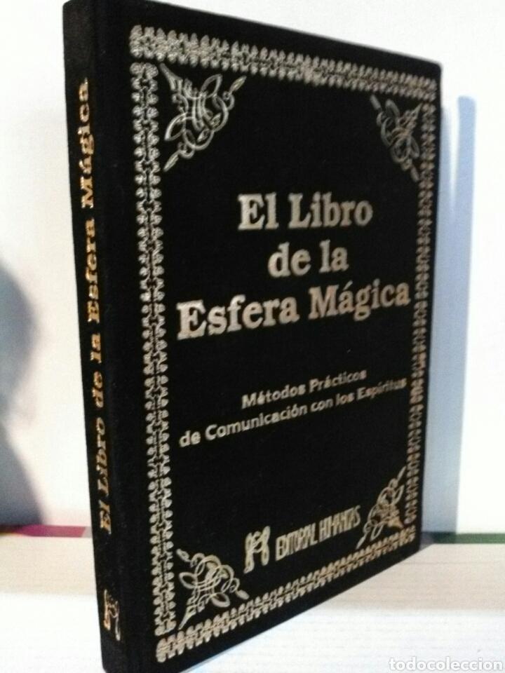 EL LIBRO DE LA ESFERA MÁGICA. HUMANITAS. TERCIOPELO (Libros Nuevos - Humanidades - Esoterismo (astrología, tarot, ufología, etc.))
