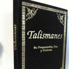 Libros: TALISMANES. HUMANITAS. TERCIOPELO NEGRO. Lote 192211820