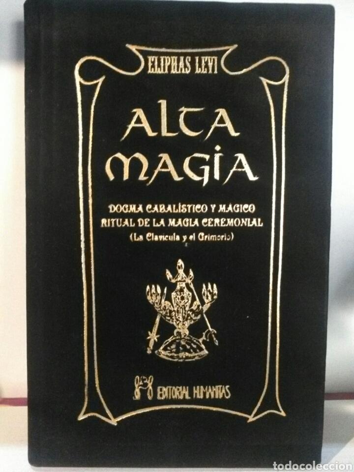 Libros: ALTA MAGIA. HUMANITAS. TERCIOPELO NEGRO - Foto 2 - 192215846