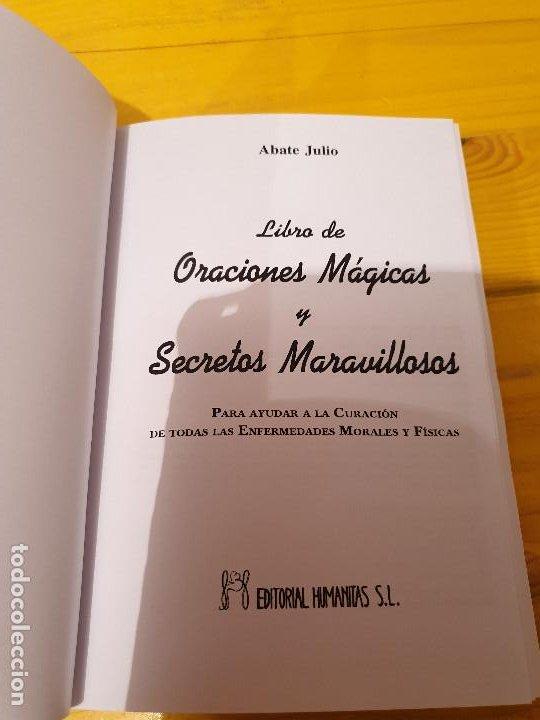 Libros: LIBRO DE ORACIONES MAGICAS Y SECRETOS MARAVILLOSOS: PARA AYUDAR A LA CURACION DE TODAS LAS ENFERMEDA - Foto 2 - 199777203