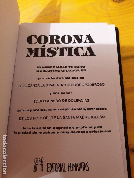Libros: CORONA MISTICA... HUMANITAS 1992 - Foto 2 - 199777331