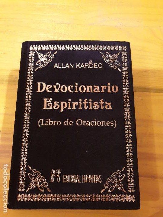 DEVOCIONARIO ESPIRITISTA: LIBRO DE ORACIONES 1992 (Libros Nuevos - Humanidades - Esoterismo (astrología, tarot, ufología, etc.))