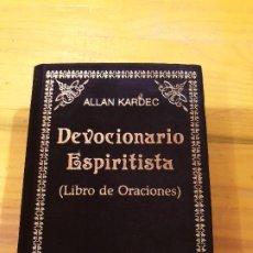 Libros: DEVOCIONARIO ESPIRITISTA: LIBRO DE ORACIONES 1992. Lote 199777433