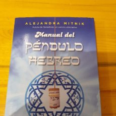 Libros: MANUAL DEL PÉNDULO HEBREO..EDITORIAL OBELISCO. Lote 199777550