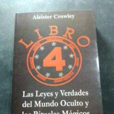 Libros: LIBRO 4 ALISTER CROWLEY. Lote 207383036