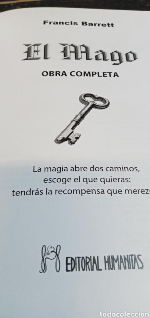 Libros: EL MAGO.FRANCIS BARRETT.OBRA COMPLETA.EDITORIAL HUMANITAS. - Foto 6 - 209309771