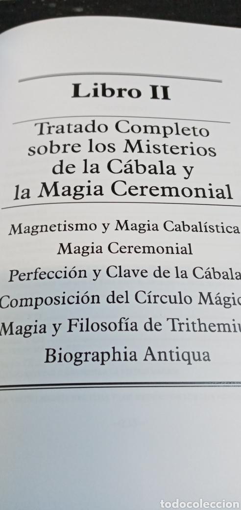 Libros: EL MAGO.FRANCIS BARRETT.OBRA COMPLETA.EDITORIAL HUMANITAS. - Foto 8 - 209309771