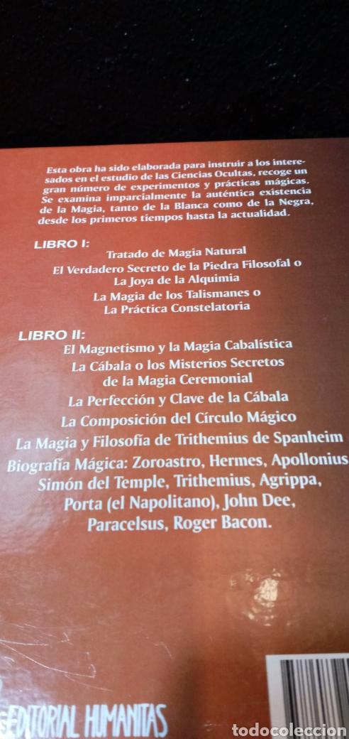 Libros: EL MAGO.FRANCIS BARRETT.OBRA COMPLETA.EDITORIAL HUMANITAS. - Foto 9 - 209309771