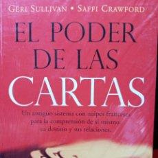 Libros: EL PODER DE LAS CARTAS.GERI SULLIVAN.SAFFI CRAWFORD.UN ANTIGUO SISTEMA DE NAIPES FRANCESES .... Lote 210946487