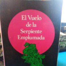 Libros: EL VUELO DE LA SERPIENTE EMPLUMADA-ARMANDO COSANI-SERIE ESOTERISMO Y REALIDAD 12,2004,LÁPIZSUBRAYADO. Lote 215376960