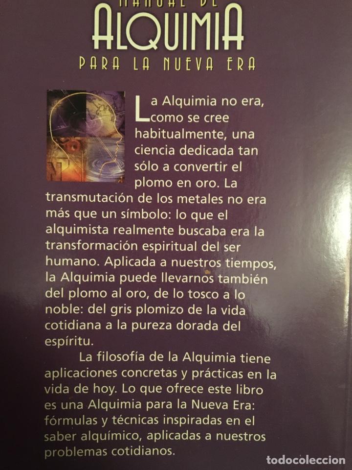 Libros: MANUAL DE ALQUIMIA PARA LA NUEVA ERA - Foto 2 - 217112161
