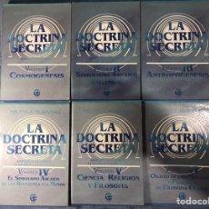 Libros: LA DOCTRINA SECRETA DE H.P. BLAVATSKY. Lote 217868373