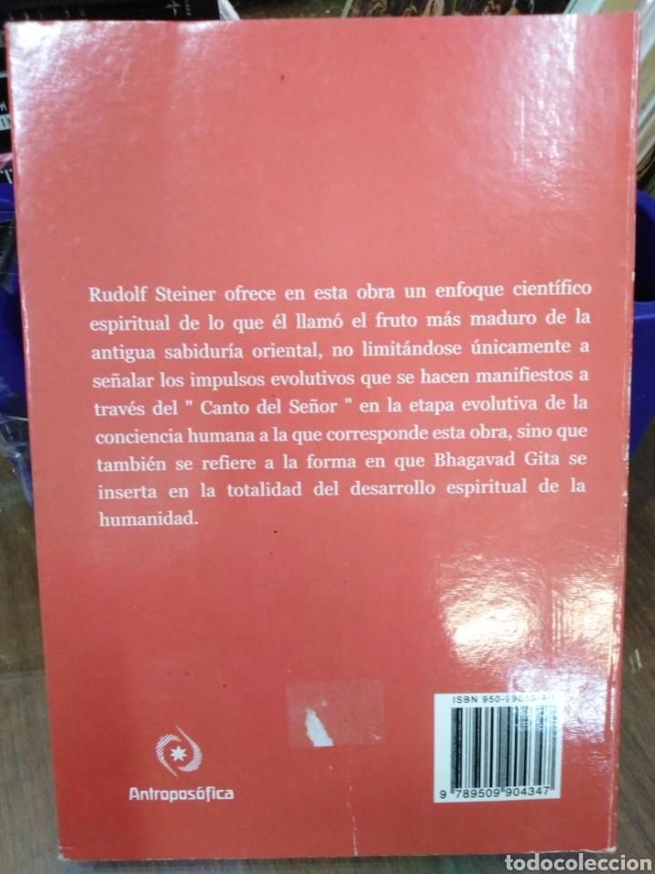 Libros: EL BHAGAVAD GITA-UN INVESTIGACIÓN ESOTÉRICA,RUDOLF STEINER,ANTROPOFOSICA-K - Foto 3 - 218497722