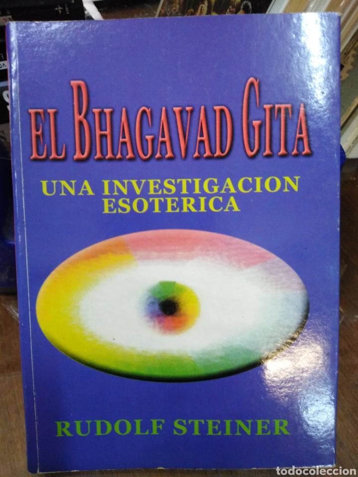 EL BHAGAVAD GITA-UN INVESTIGACIÓN ESOTÉRICA,RUDOLF STEINER,ANTROPOFOSICA-K (Libros Nuevos - Humanidades - Esoterismo (astrología, tarot, ufología, etc.))