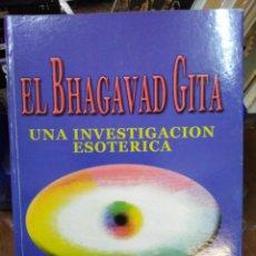 Libros: EL BHAGAVAD GITA-UN INVESTIGACIÓN ESOTÉRICA,RUDOLF STEINER,ANTROPOFOSICA-K. Lote 218497722