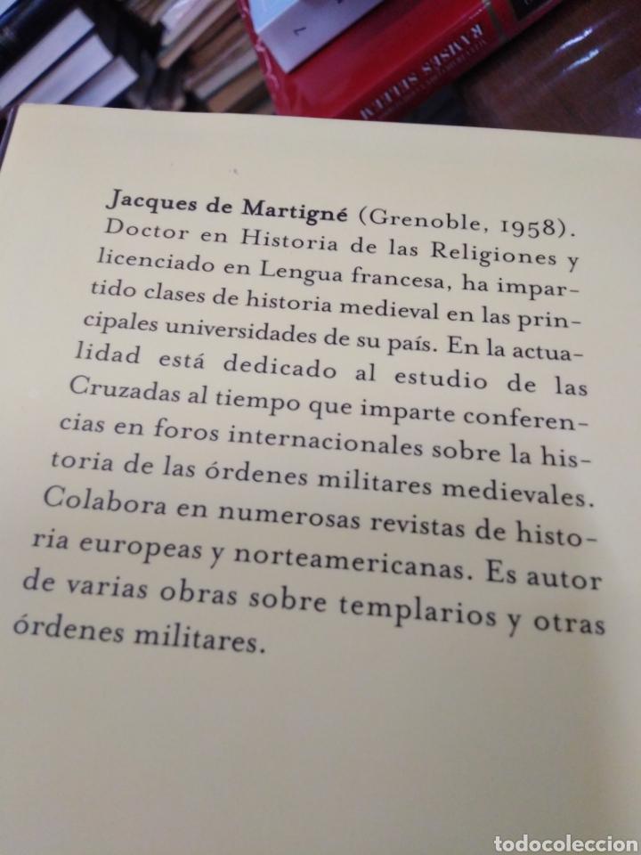 Libros: EL CÓDICE SECRETO DE LOS TEMPLARIOS-SÍMBOLOS,RITOS Y REGLAS,JCQUES DE MARTINGE-AUREA EDITORES,2006, - Foto 5 - 218498403