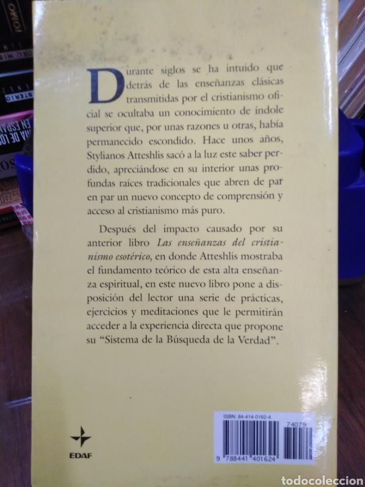 Libros: PRÁCTICAS DEL CRISTIANISMO ESOTÉRICO-EJERCICIOS Y MEDITACIONES,STYLIANOS ATTESHLIS,EDAF NUEVA ERA,19 - Foto 3 - 218498562