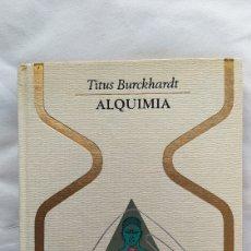 Libros: LIBRO ALQUIMIA 1971. Lote 221586886