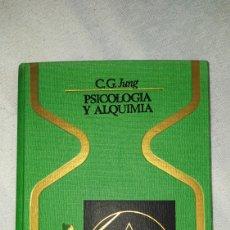 Libros: LIBRO PSICOLOGIA Y ALQUIMIA 1977. Lote 221618793