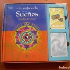 Libros: EL SIGNIFICADO DE LOS SUEÑOS, EL PODER DEL AMOR / + 2 JUEGOS DE CARTAS PRECINTADAS / ROSA MARTÍNEZ C. Lote 222289006