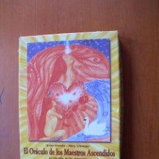 Libros: EL ORÁCULO DE LOS MAESTROS ASCENDIDOS / ULRIKE HINRICHS - PETRA SCHNEIDER. Lote 222290662