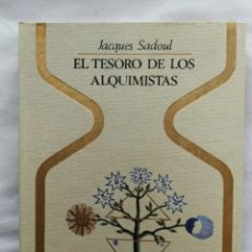 Libros: LIBRO EL TESORO DE LOS ALQUIMISTAS 1974. Lote 222912178