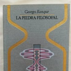 Libros: LIBRO LA PIEDRA FILOSOFAL 1974. Lote 222912556