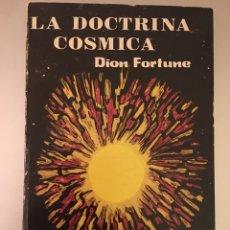 Libros: LA DOCTRINA CÓSMICA.. Lote 222949310
