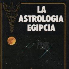 Libros: LA ASTROLOGÍA EGIPCIA. FRANCOIS SUZZARINI. EVEREST. 1988. NUEVO.. Lote 232268880