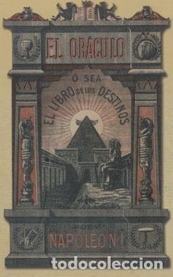 EL ORÁCULO: O SEA EL LIBRO DE LOS DESTINOS DE NAPOLEÓN (Libros Nuevos - Humanidades - Esoterismo (astrología, tarot, ufología, etc.))