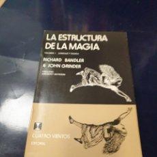 Libros: LA ESTRUCTURA DE LA MAGIA. Lote 243381525